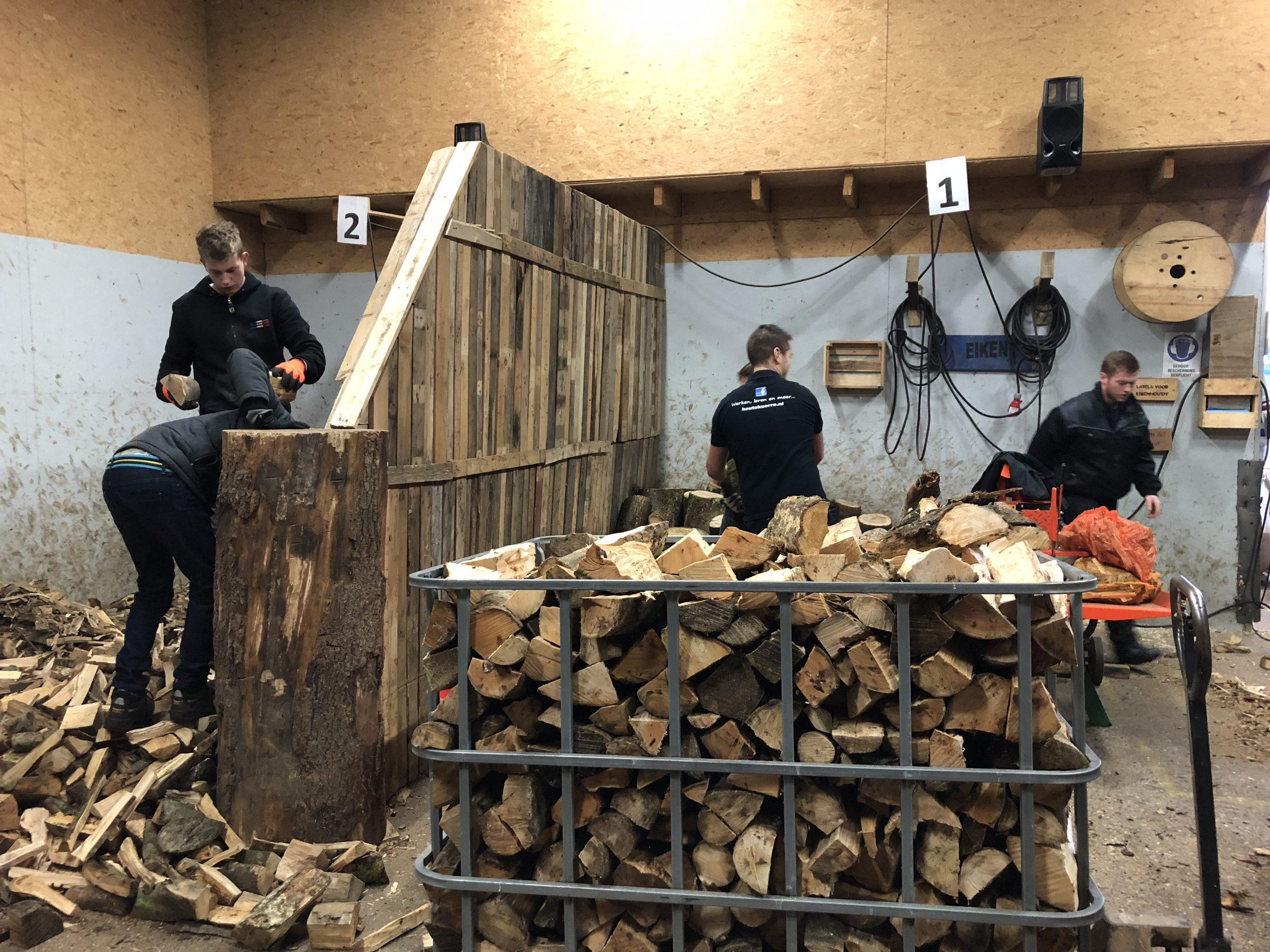 houtskourre hout